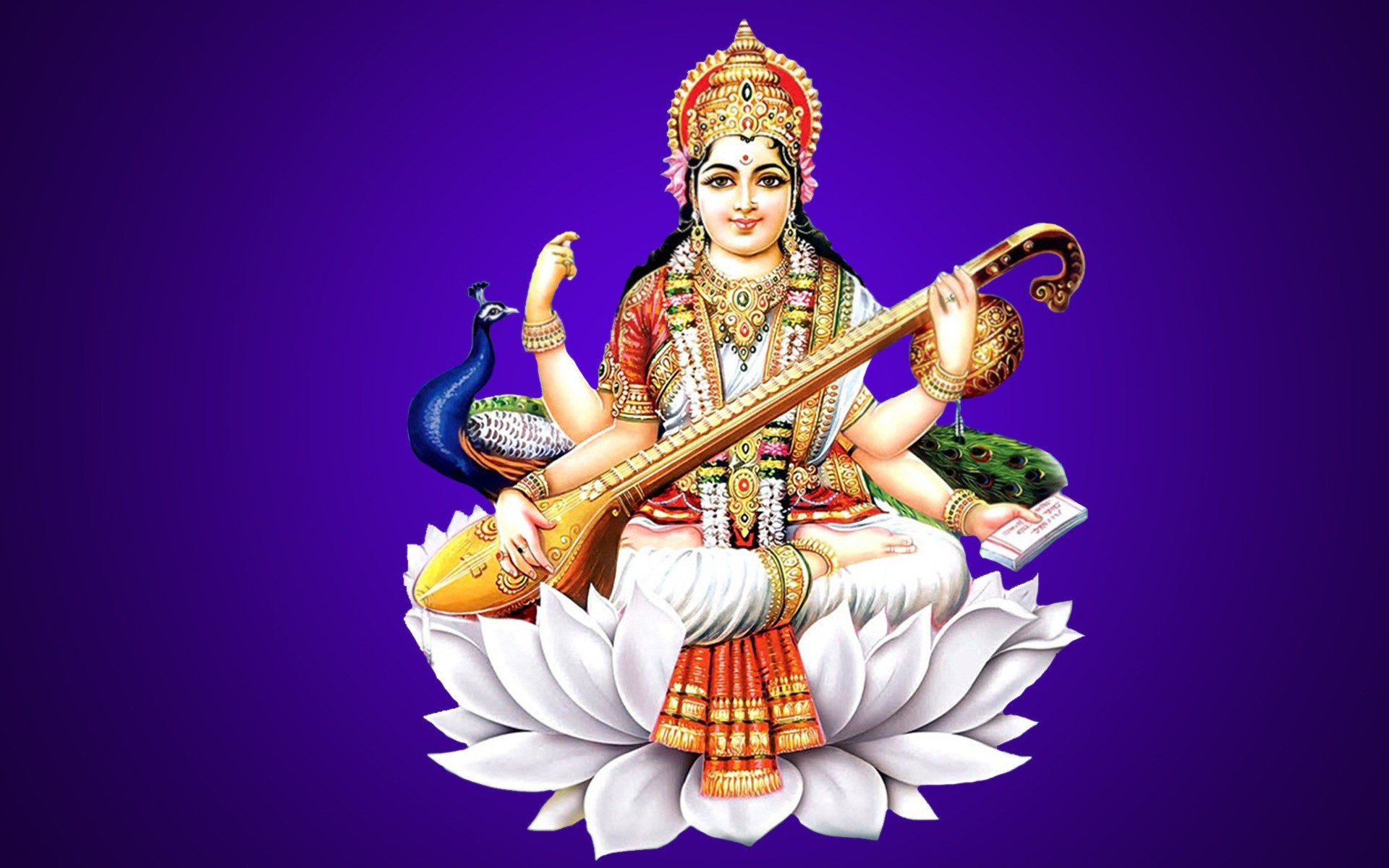 Goddess Saraswati Puja